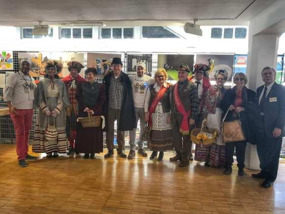 le maschere rappresentanti le città di grugliasco 1