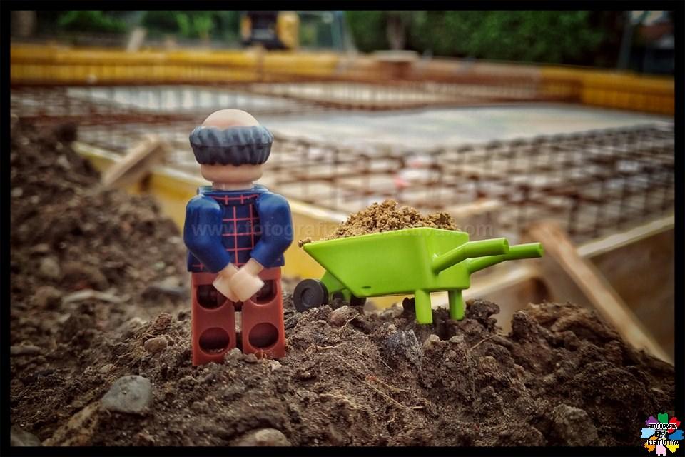 11-06-2019 Roberto Ceruti 96 Domani parlo io col Capo Cantiere, perchè non è così che si arma una fondazione!!! Non ci sono più i muratori di una volta...