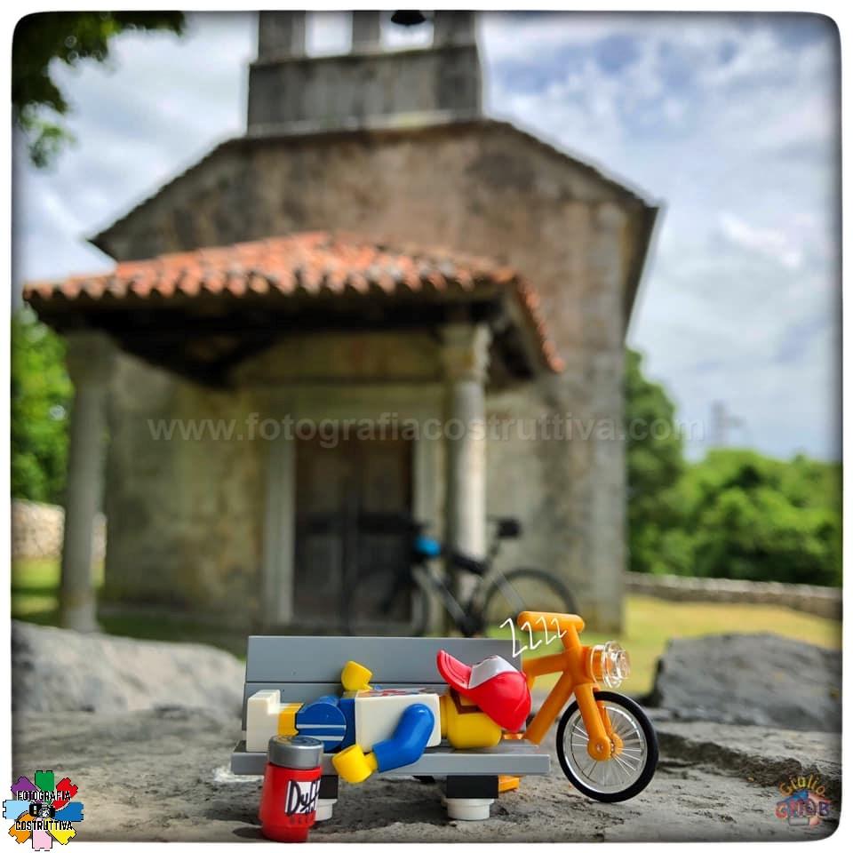 12-07-2019 Giulio De Bortoli 58 Questo week-end con MiniG si va a pedalare. Ma con calma è il week-end, bisogna anche riposarsi un po' 😉🚴♂️😴