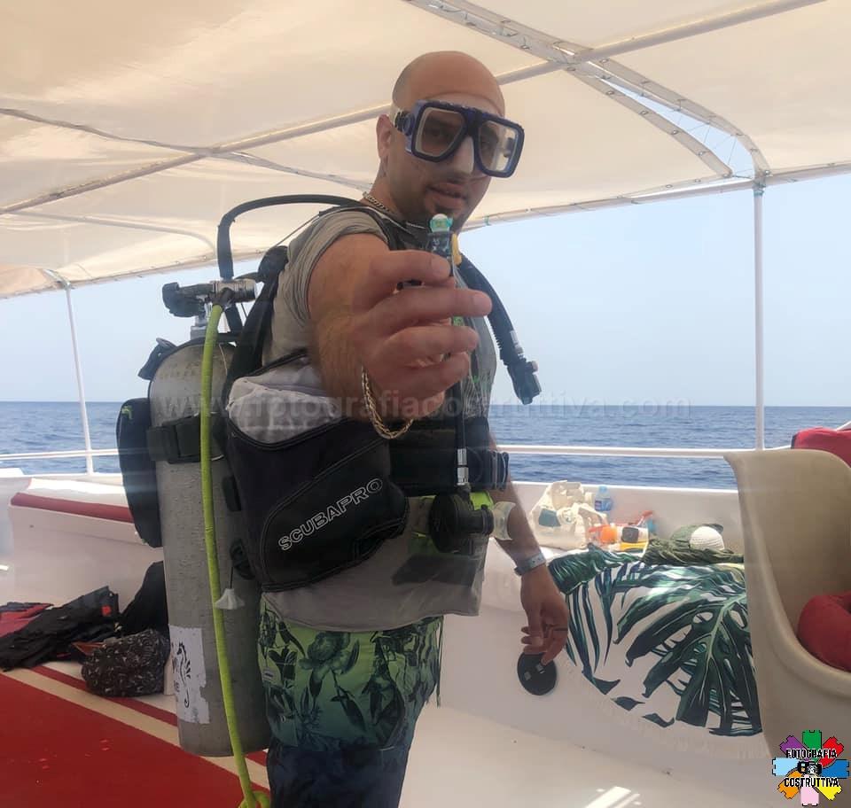 20-06-2019 Daniele Varisco 51 Oggi daiving con la mia mascotte 🤪🤪