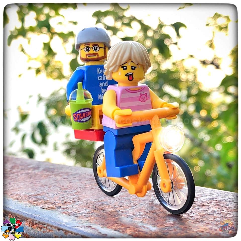 24-07-2019 Giulio De Bortoli 53 A MiniG piace andare in bici con MiniM trova che sia molto rilassante… 🚴♂️🚴♀️😜 — presso Carso Triestino.