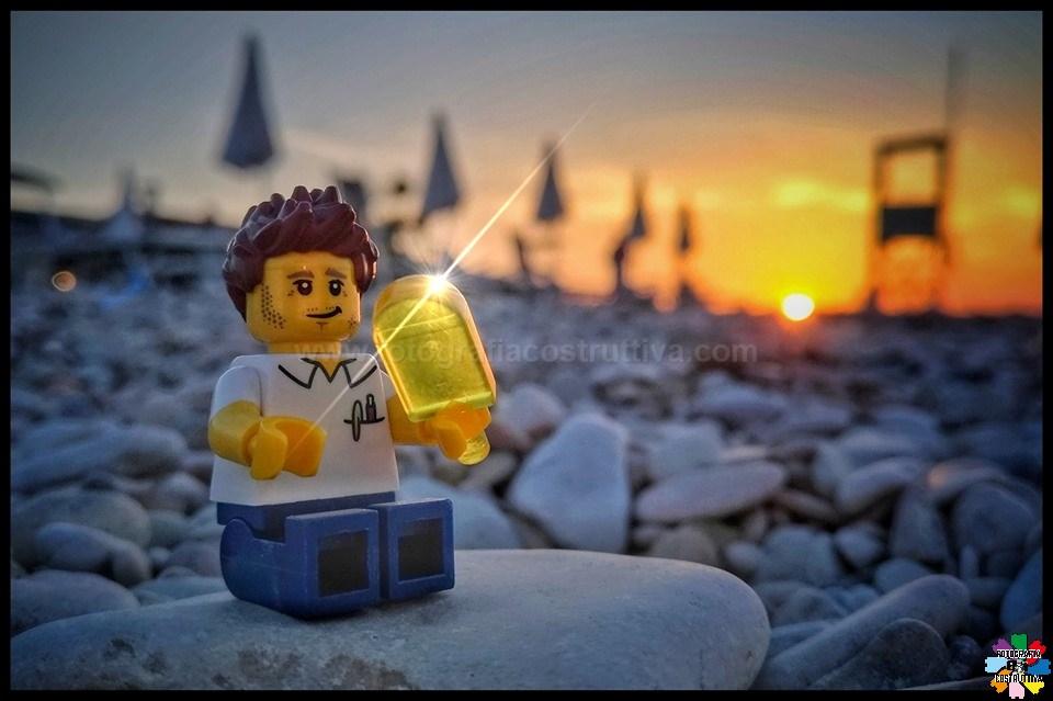 25-06-2019 Roberto Ceruti 61 E dopo una giornata di sole, un bel ghiacciolo al tramonto, in riva al mare...