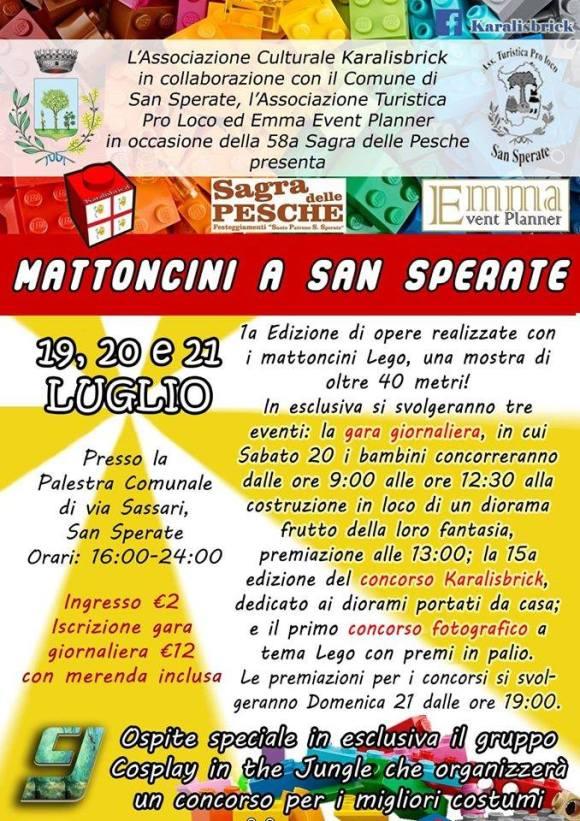 Locandina San Sperate CA