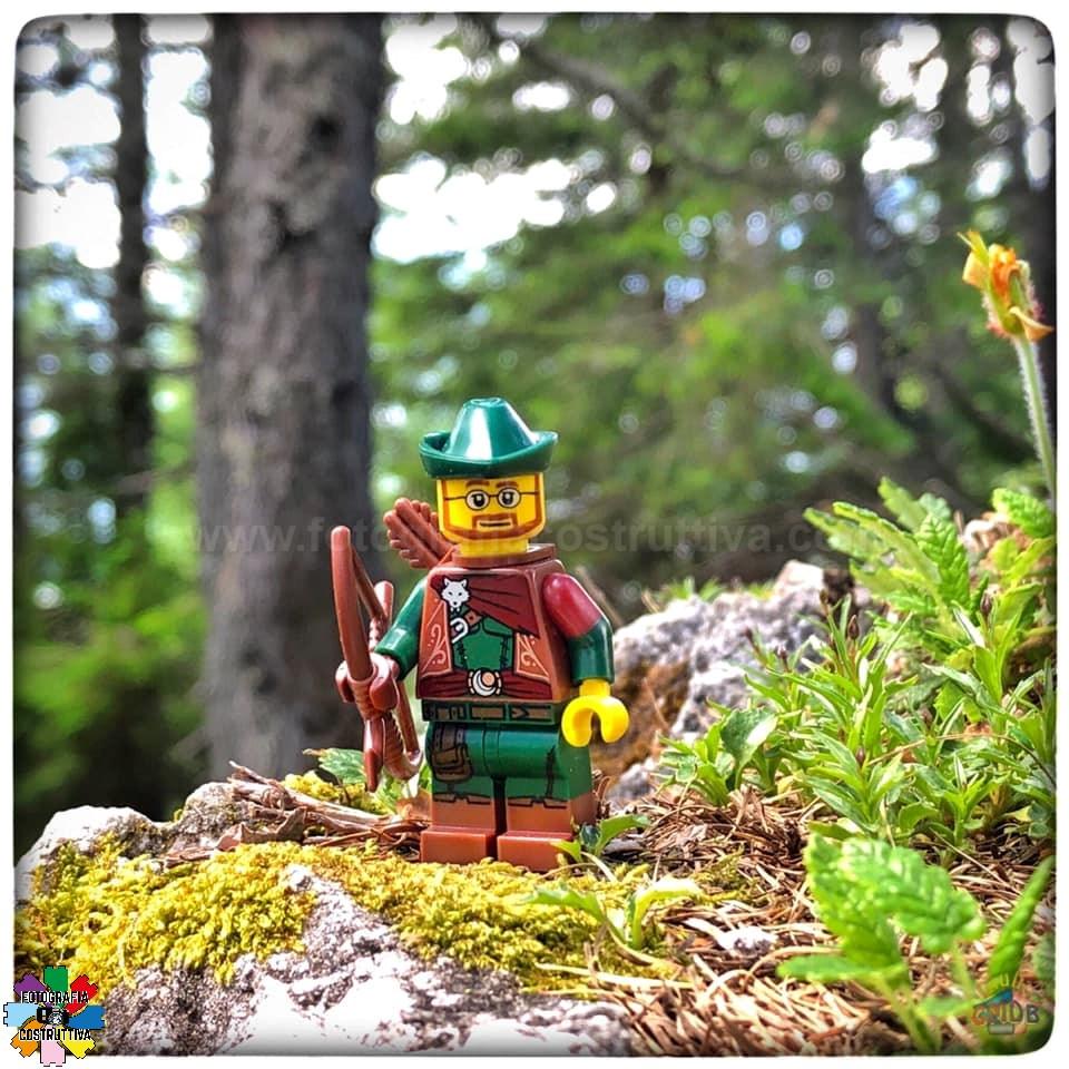 01-09-2019 Giulio De Bortoli 50 Nella foresta di Tarvisio ho trovato MiniG Robin Hood! 😄 — presso Foresta di Tarvisio.