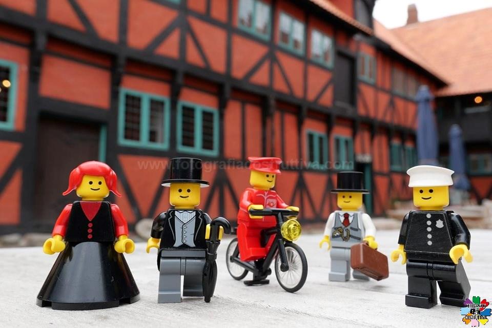04-09-2019 Marco Bazzo 53 Nyborg, Danimarca, cittadina graziosa e tranquilla, con un interessante casa-museo sulla vita danese del 1600. Gli omini però sono del tardo '800.