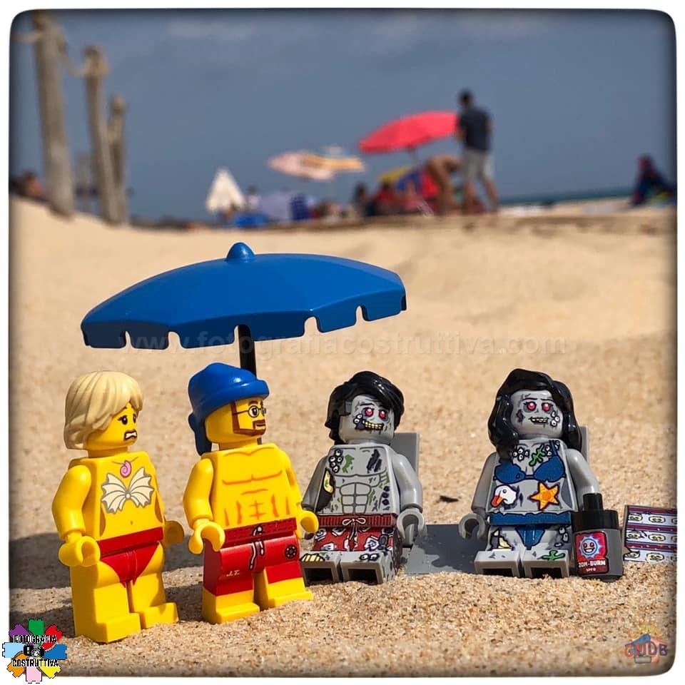 24-09-2019 Giulio De Bortoli 76 MiniG e MiniM hanno trovato una coppia che da l'impressione di aver passato più di qualche mese su questa spiaggia 🏖 🧟♀️🧟♂️😉