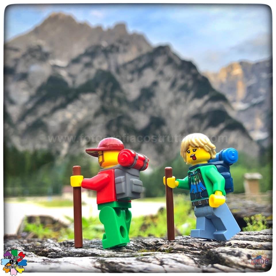 30-08-2019 Giulio De Bortoli 56 Week-end in montagna ⛰ per MiniG e MiniM a rilassarsi al fresco (quasi 😉) — a Val Saisera.