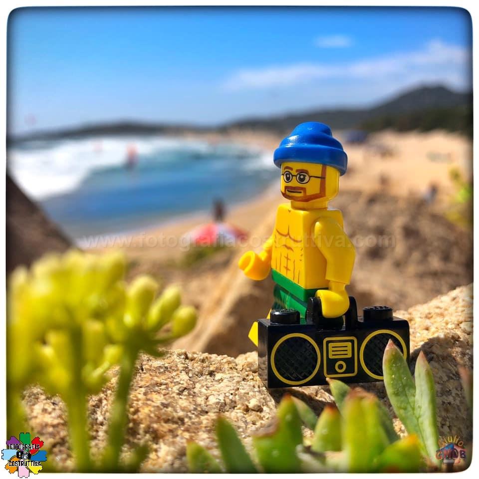 23-09-2019 Giulio De Bortoli 55 MiniG è contento di essere tornato alla sua amata spiaggia di Chia