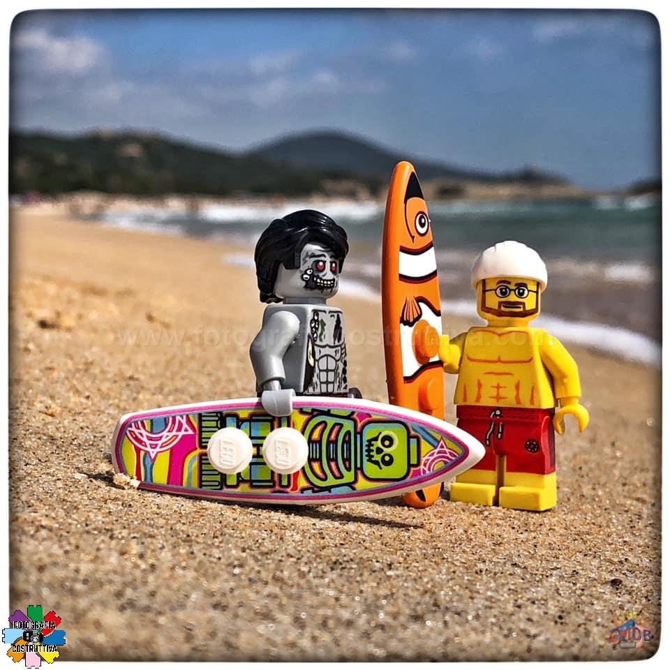 26-09-2019 Giulio De Bortoli 51 Ad ognuno la sua tavola da surf 🏄♂️😉 — presso Spiaggia Su Giudeu, Chia.
