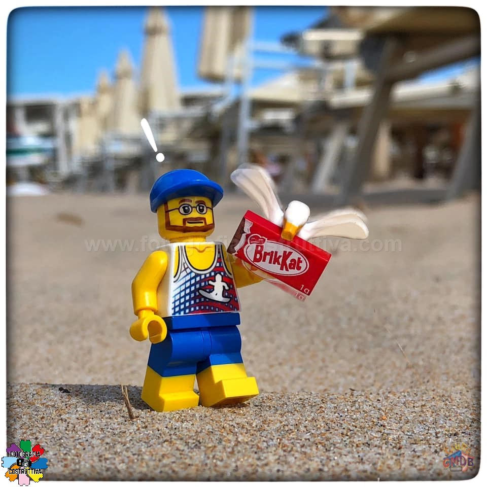 30-09-2019 Giulio De Bortoli 54 Attenzione ai gabbiani ladri oggi uno ha rubato la merenda a MiniG 😡 — presso Spiaggia Su Giudeu, Chia.