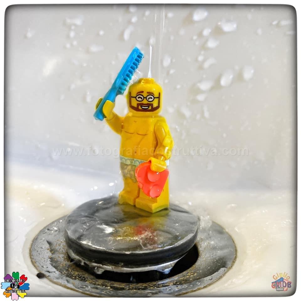 06-11-2019 Giulio De Bortoli 56 MiniG ci tiene molto ad essere sempre bello pulito eccolo qui durante la sua doccia quotidiana 🛁😉