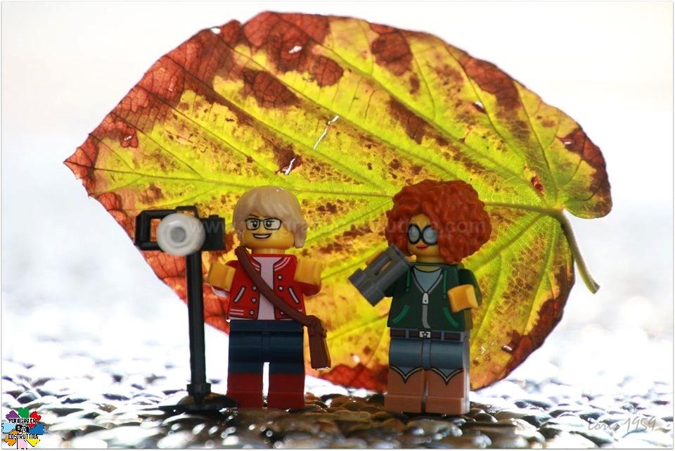 11-11-2019 Susanna Loris Lorandi 59 A MiniLa e MiniSu la pioggia non fa un baffo! Loro sono abituate ai temporali!