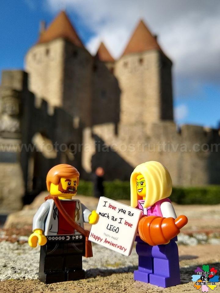 17-11-2019 Magdalena Kowalska 52 Insieme da 4 anni❤️ Stavolta MagdaLEGOna e ALEGOnek sono andati a Carcassonne.
