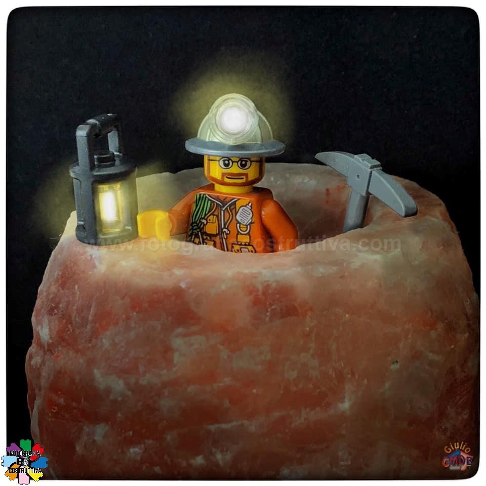 20-11-2019 Giulio De Bortoli 63 MiniG si è messo in testa di scavare un pozzo dei desideri nel mio cristallo di sale... 🤨
