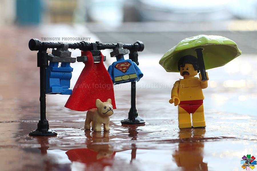 28-10-2019 Thong YH 61 Sta piovendo di nuovo. I vestiti sono umidi e non possono iniziare a lavorare...