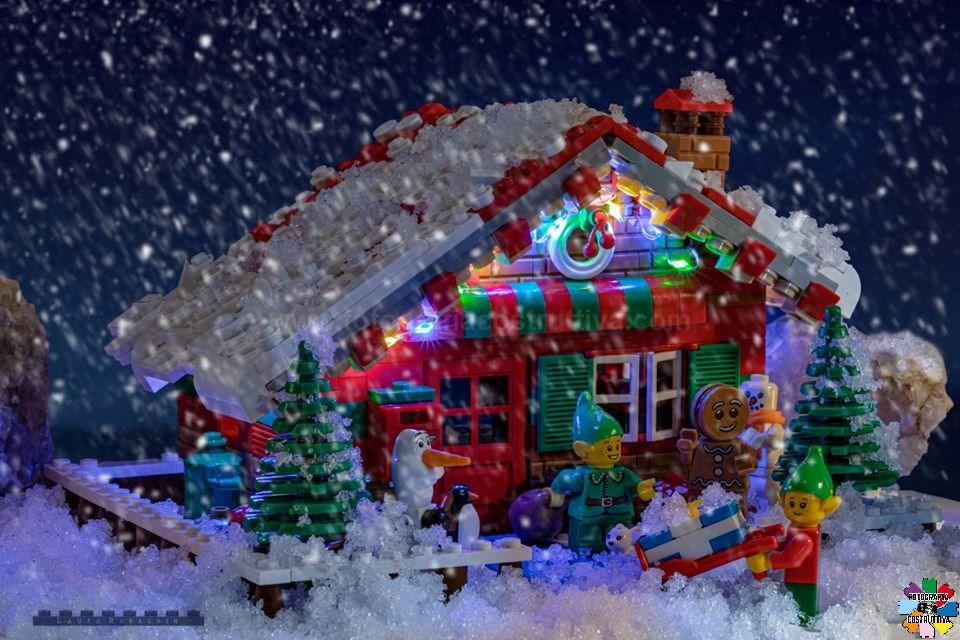 04-12-2019 Laura Rabachin 59 E' ora di accendere le luci.... e della neve!!!