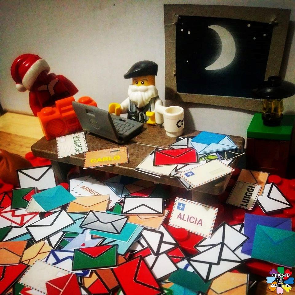 09-12-2019 Luiggi Rossetti 57 Babbo Natale ha cominciato a ricevere e leggere lettere, hai gia fatto la tua