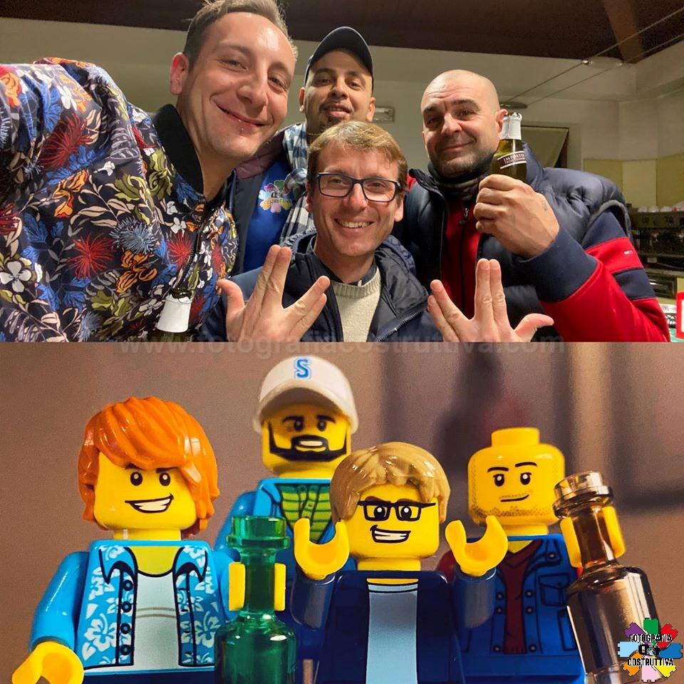 28-01-2020 Yuri Colombo 50 Solbiate Brick 2020 🍻 — con Daniele Varisco, Don Ale e Daniele Rosa