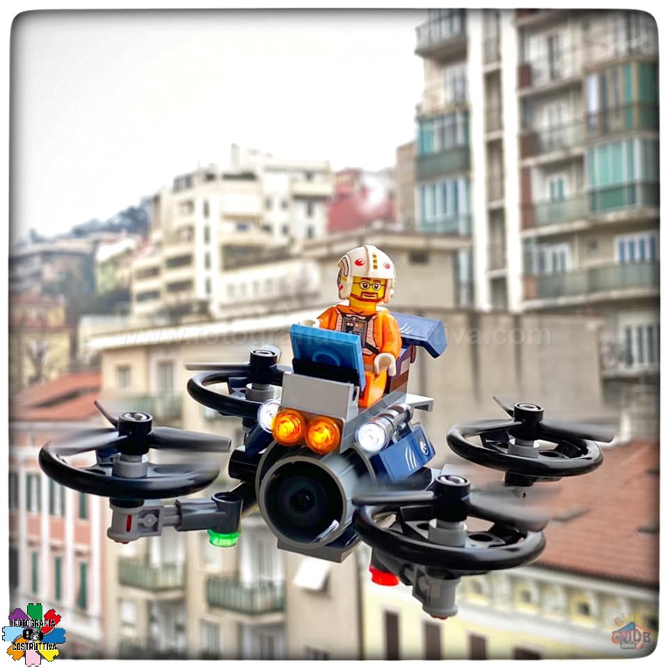 10-02-2020 Giulio De Bortoli 76 Oggi MiniG ha testato il suo nuovo drone però, vorrei averne uno così anch'io! 🚁😀